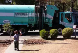 Daniel and Manuel Sanchez Garbage Man