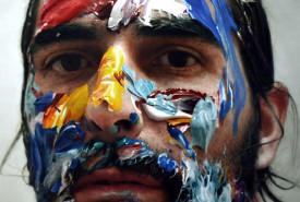 Eloy Morales Hyper-Realistic Painting Selfie Portrait